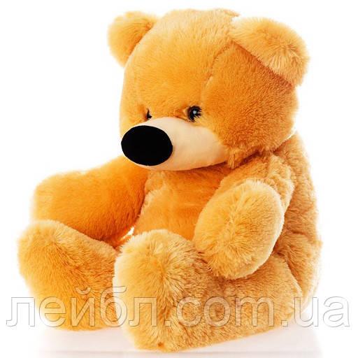 Недорогой мягкий медведь медового цвета 95 см