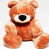 Недорогой мягкий медведь медового цвета 95 см, фото 4