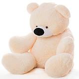 Недорогой мягкий медведь медового цвета 95 см, фото 6