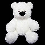Недорогой мягкий медведь медового цвета 95 см, фото 7
