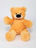 Недорогой мягкий медведь медового цвета 95 см, фото 8