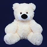 Недорогой мягкий медведь медового цвета 95 см, фото 9