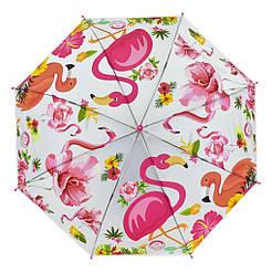 Зонтик детский C 31639 Белый Фламинго 69639-2