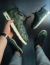 Мужские зимние ботинки Native Shoes Fitzsimmons (камуфляж), мужские камуфляжные ботинки Native Shoes