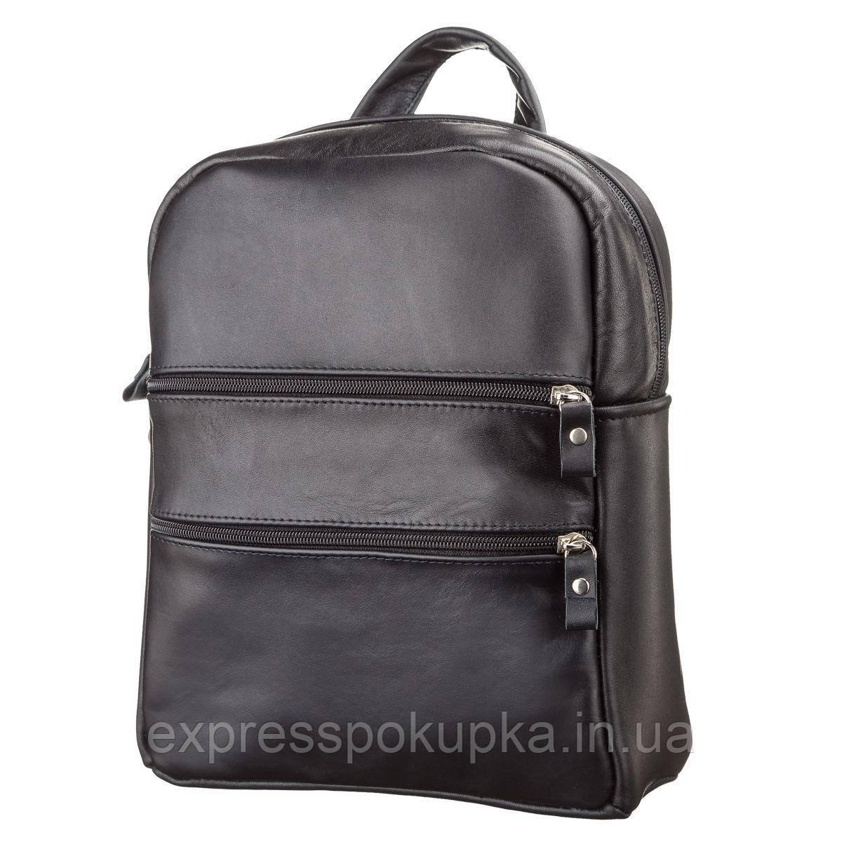 c2abb294b924 Рюкзак женский SHVIGEL 15304 кожаный Черный, Черный: продажа, цена в ...