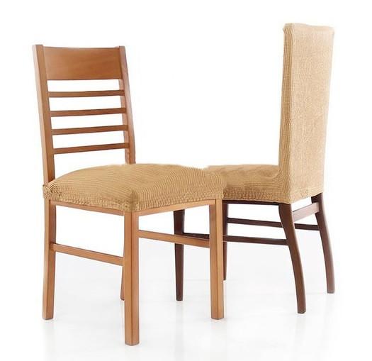 Чехлы на стулья Испания Rustica Gold Ante со спинкой 6 шт.
