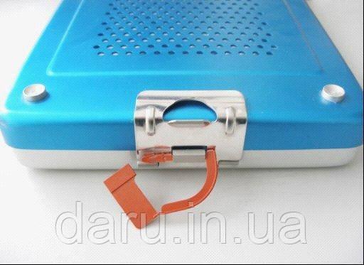 Пломбы безопасности автоклавируемые, одноразовые для контейнеров стерилизации, ORJİNAL MEDİKAL, Турция