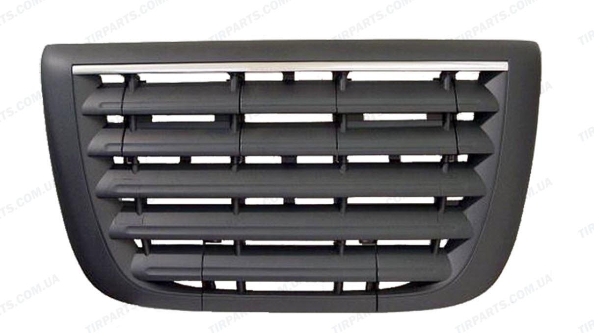 Решетка радиатора (с хромовой полосой) DAF XF EURO5 (1635802 | AF-DA-135-1)