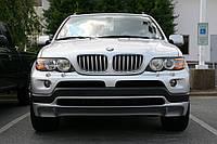 Накладка переднего бампера BMW X-5  E53 (2003-2006)
