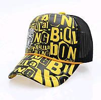 Кепка тракер Billa bong с сеточкой Желтая, Унисекс, фото 1