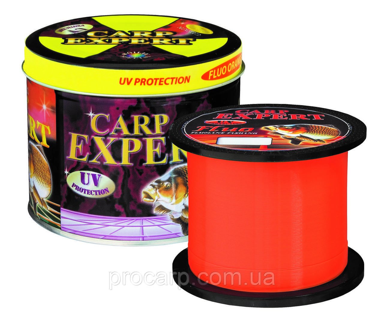 Леска Energofish Carp Expert UV Fluo Orange 960 м 0.50 мм 23.57 кг (30114850)