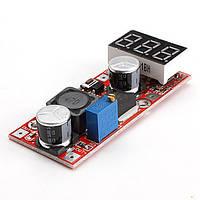 Понижуючий стабілізатор з вольтметром (4-35В на 1-30В, 3А)
