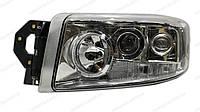 Фара головного света г / управления белая с противотуманками, с ксеноновой лампой и балластом LH Renault new Premium e-mark (5010578451  