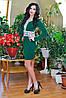 Платье 0676/ зеленый