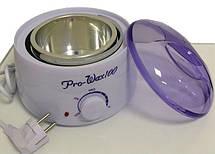 Воскоплав для банок таблеток и парафина универсальный 400 мл Pro Wax 100, фото 2