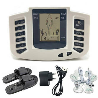 Электронный массажер миостимулятор для тела JR-309A, фото 2
