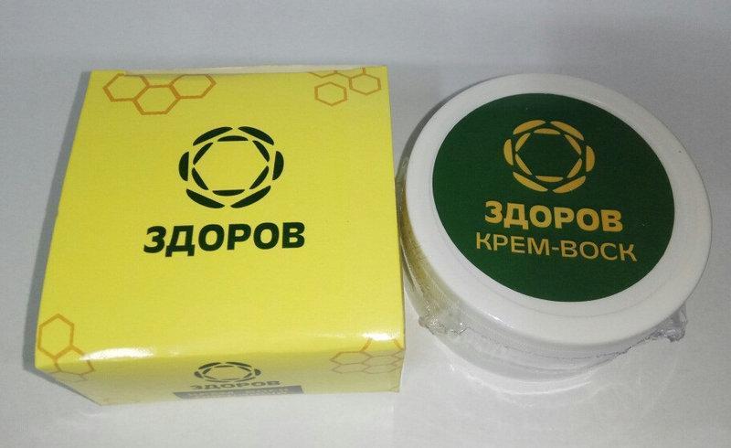 ЗДОРОВ - Крем-воск пчелиный от мастопатии