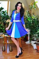 Платье 0671 / голубой