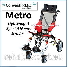 Специальная коляска для детей ДЦП Convaid Metro Special Needs Stroller - ME16/77kg
