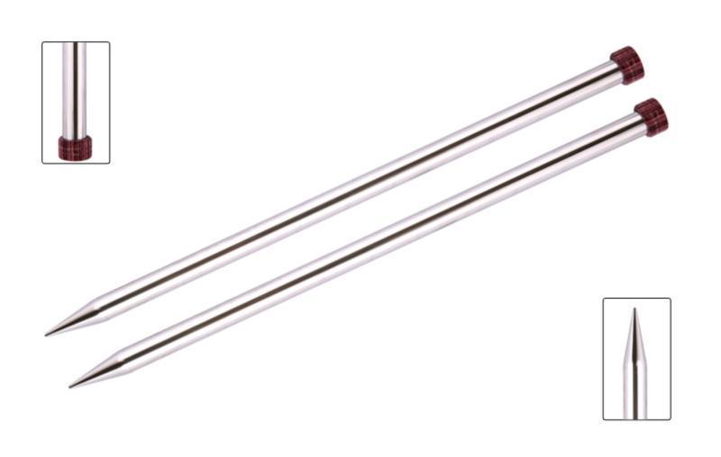 10200 Спицы прямые Nova Metal KnitPro, 25-40 см, 2.00 - 12 мм, Код товара: 1053237