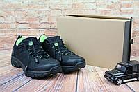 Мужские кроссовки Merrell Черный/Салатовый 741-5