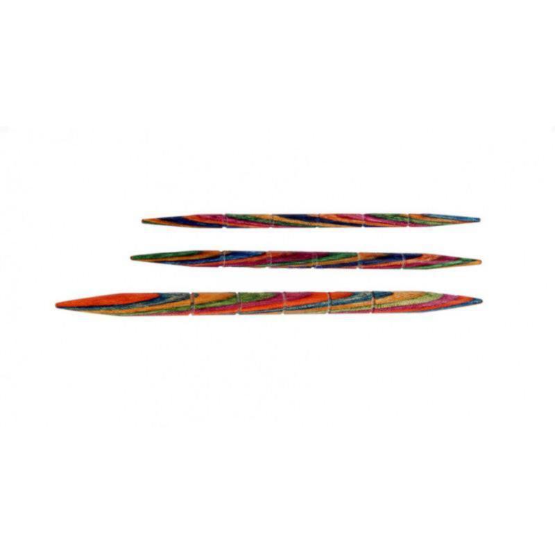 20501 допоміжні Спиці 3 шт (3.25, 4.00, 5.00 мм) Symfonie Wood KnitPro, Код товару: 17037