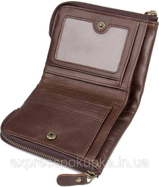 280532b97cdc ... Кошелек Vintage 14530 из натуральной кожи Коричневый, Коричневый, ...