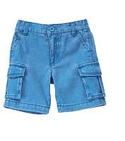 Джинсовые шорты для мальчика.  12-18, 18-24 месяца, 2 года, фото 1