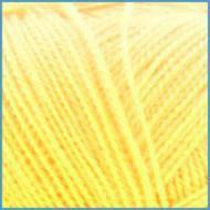 Пряжа для вязания Valencia Arabella, 002 желтый цвет, 90% премиум акрил, 10% шелк, Код товара: 1057435