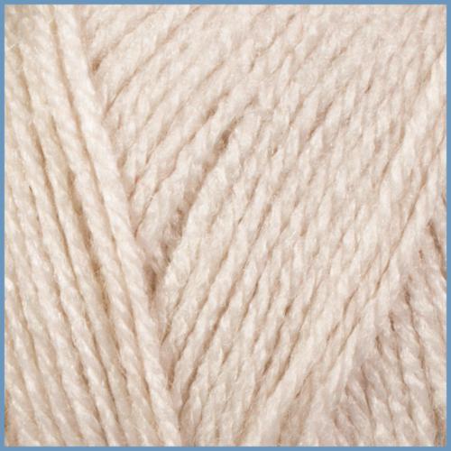 Пряжа для вязания Valencia Bambino, 002 молочный цвет, 94% акрил, 6% вискоза, Код товара: 1056738