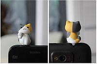 """Заглушка для аудио порта 3,5 мм (ПВХ) """"Котёнок по имени МИЛИ"""""""