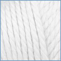 Пряжа для в'язання Valencia Mango, 0601 (White) колір, 24% вовни, 4% кашеміру, 72% акрилу, Код товару: 1056836