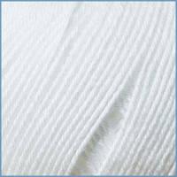 Пряжа для вязания Valencia Vista, 001 цвет, 50% хлопок, 50% вискоза бук+вискоза эвкалипт (ProModal®), Код товара: 1063368