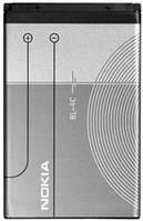 Аккумулятор для мобильного телефона Nokia BL-4C (860 mAh)