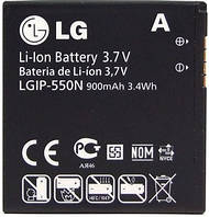 Аккумулятор для мобильного телефона LG LGIP-550N (900 mAh), фото 1