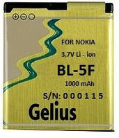 Аккумулятор для мобильного телефона Gelius Nokia BL-5F (1000mAh)