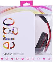 Наушники Ergo VD-390 Red