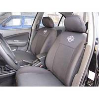 Чехлы на сидения Nissan Almera classik 2006- (подголовники) (Prestige)