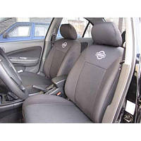Чехлы на сидения Nissan Almera classik 2006- (горбы) (Prestige)