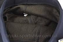 Брюки женские зимние на меху в деловом стиле 3XL - 6XL, фото 3