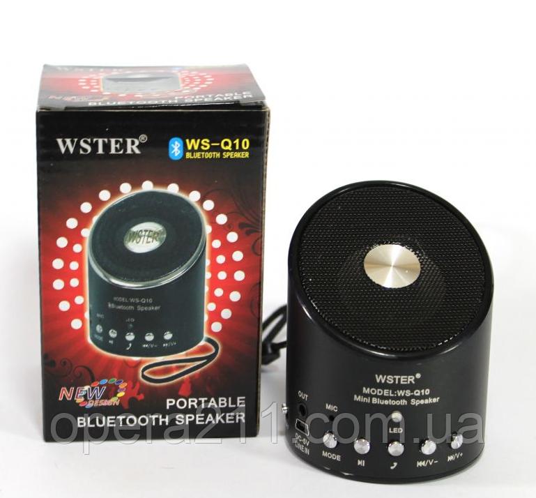 Bluetooth колонка WSTER WS-Q10