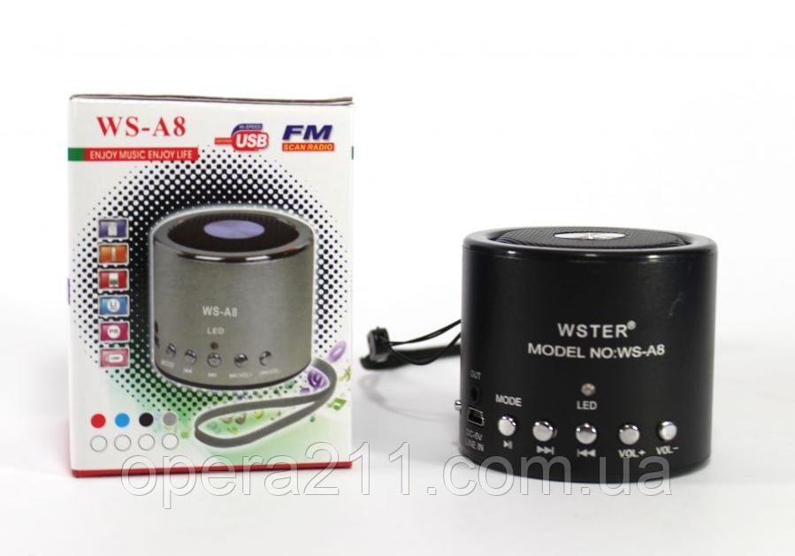 Bluetooth колонка WSTER WS-A8