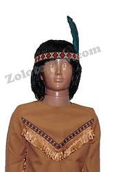 Повязка Индейца с пером