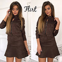 Костюм-пиджак +юбка, фото 1