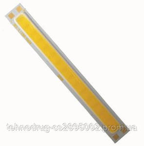 Мощный светодиод (полоса) 8Ватт белый (холод.)