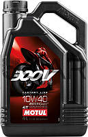 Motul 300V 4T Factory Line Road Racing SAE 10W40 эстеровое моторное масло, 4 л (836141)