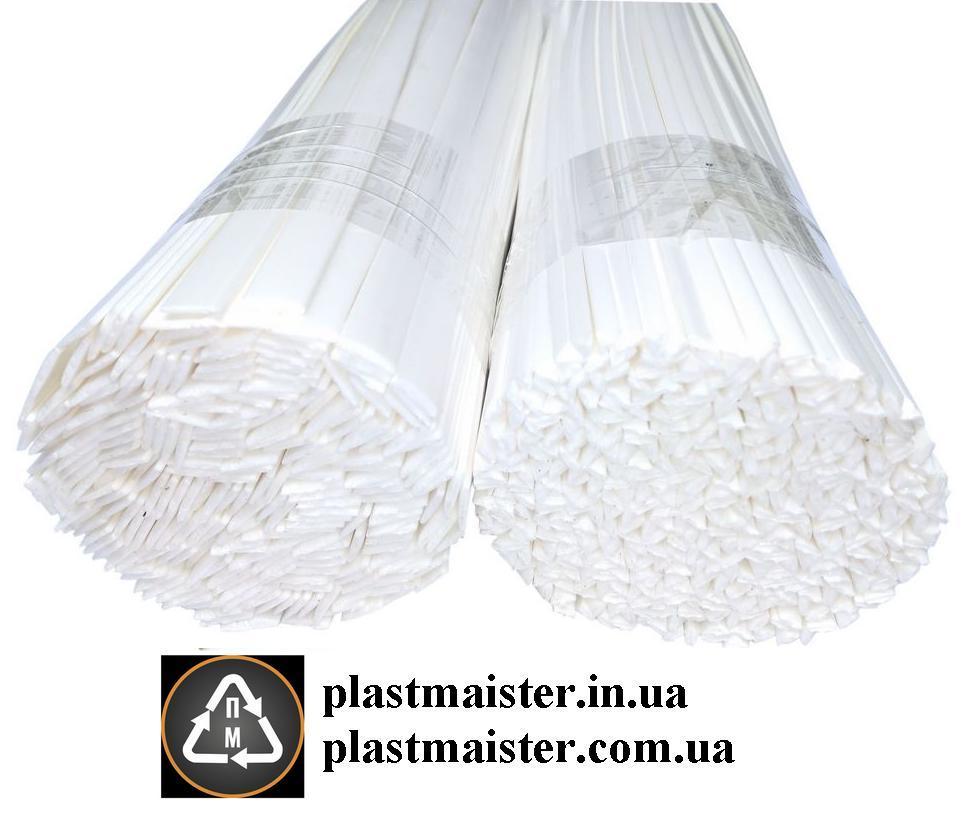 PS - 0,1кг. БЕЛЫЙ полистирол прутки, электроды для сварки, пайки пластика