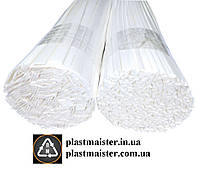 PS - 0,1кг. БЕЛЫЙ полистирол прутки, электроды для сварки, пайки пластика, фото 1