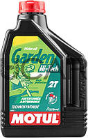 Motul Garden 2T Hi-Tech моторное масло для садовой техники, 2 л (834902)