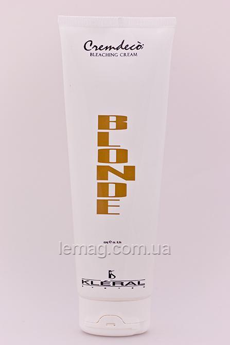 Kleral System Bleaching Blonde Cremdeco Осветляющий крем для волос, 250 гр